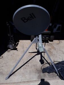Sat Dish and trypod
