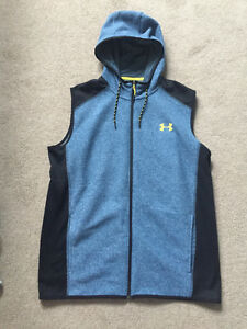 Mens Under Armour Cold Gear Vest. Medium. Never Worn