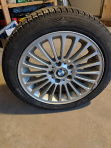 205/50R17 snow tires with rims