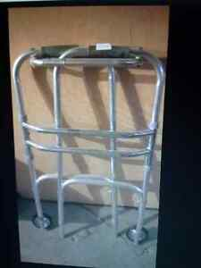 1 foldable walker $30.  2canes $20. each