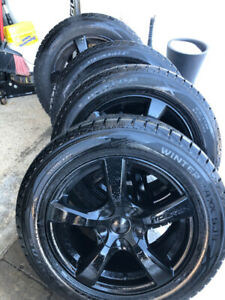 4 BMW X5 fitting rims and Winter tire package 255 55 18