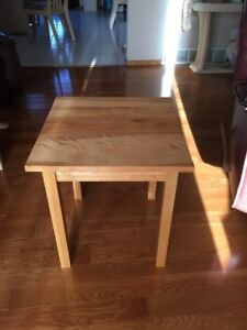 Birch End Table best offer