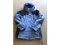Ladies Columbia Ski Jacket c/w zipped in fleece size 14 (Lge)
