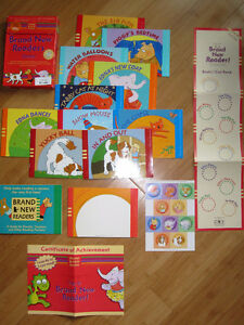 Brand New Readers - Red Set (10 Book Set)