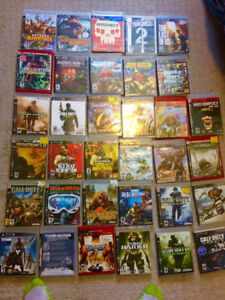 Over 35 Ps3 Games (Mint Condition)if wanted ps3 included $$