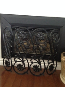 Cast Iron Fire Place Cover