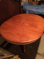 Two Toned Bar Table