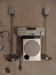 *** SONY Amplifier with 2 Speakers and Subwoofer ***