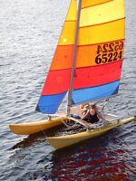 Hobie 16 on Lake Muskoka