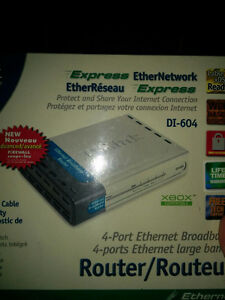 D-link dl-604 cable/Router, 4-port switch London Ontario image 5