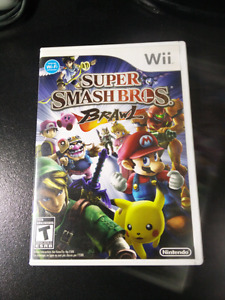Super Smash Bros Brawl, for Wii, complete in box with manual.