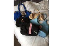 Job lot of 5 handbags