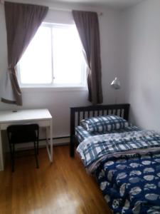 2 chambres a louer tout inclus ,electricite,chauffage