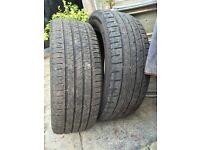 Tyres part worn 195 55 16 x2