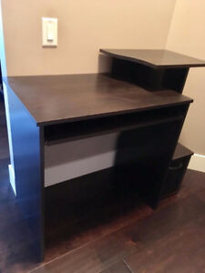 Brand new dark brown Computer Desk