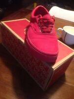 Vans jordan red size us 8.5