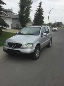 1999 Mercedes-Benz M-Class SUV, Crossover