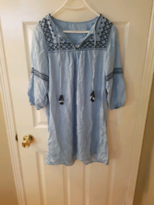 Chambray tunic dress from H&M
