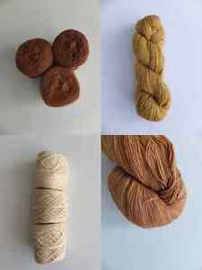 Organic Cotton, Wool & Hemp Yarn for Knitting & Crochet