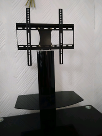 """Tv trolly tv stand tempered glass for 30 till 40 """" tv"""