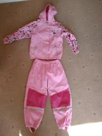Waterproof trousers & coat bundle set