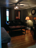 short term 2 bedroom furnished apartment available October 1