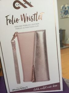 iphone Case/Wristlet  Fits  6,7, and 8