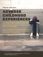 Seeking men with difficult events in childhood/rough childhood