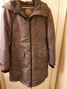Maternity Winter Coat with Extender Panel