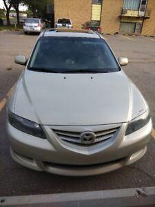 Reduced: Selling 2005 Mazda V6 - $5400/-