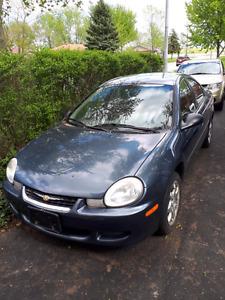 2002 Chrysler Neon LE (as is, read description)