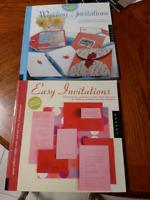 Wedding invitations books