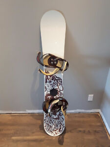 Atomic Cold Smoke With Burton Bindings