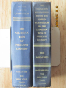 WARREN COMMISSION ON THE ASSASSINATION OF PRESIDENT KENNEDY