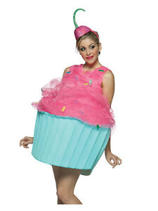 Adult-Cupcake-Sweet-Food-Costume-Standard-Fancy-Dress-Brand-New