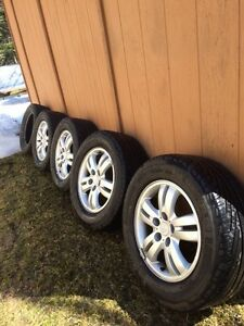 Michelin HydroEdge Tires on Rims (235/60R16)