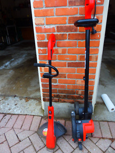 2 Working Black & Decker Yard Tools: Edger and Weed Whacker