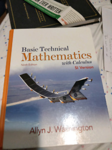 Basic technical mathematics with calculus kijiji in ontario buy basic technical mathematics with calculus fandeluxe Gallery