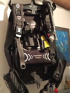 Veste de plongée Mares HYBRID pure BCD. XS/S