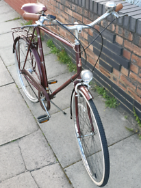 Vintage Raleigh Courier