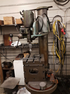 Drill Press-With Bits