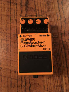 Pedale d'effets Boss DF-2 Super Feedbacker and distortion