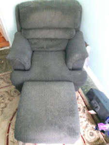 Free Armchair and Ottoman
