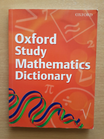 Oxford Maths Dictionary