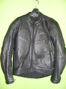 Alpinestars Leather Jacket - 44 - RC Back Protector at RE-GEAR