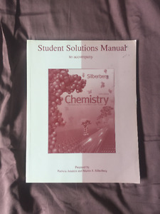 Silberberg Student Solutions Manual