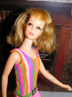 FRANCIE Vintage TNT 1967 Ash Blonde Hair BENDABLE LEG Doll Barbie Twist N Turn