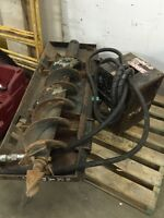 """10"""" auger skid steer attachment TRADE FOR? Or $2500"""