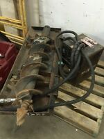 "10"" auger skid steer attachment TRADE FOR? Or $2500"