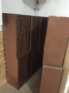 Lightweight metal cabinet